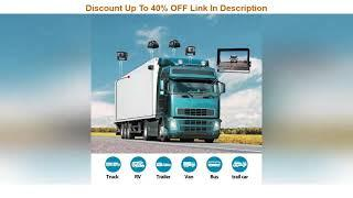 """Top 10 Fookoo Ⅱ 10"""" 1080P Wired Backup Camera System Kit,10"""" HD Quad Split Screen Monitor with Reco"""
