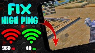 Fix High PING Problem in PUBG Mobile Reduce your PING to 40ms with PROOF