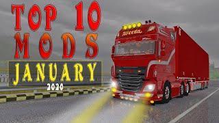 TOP ETS2 MODS - JANUARY 2020 ETS2 1.36 | Euro Truck Simulator 2 Mods