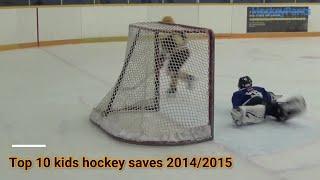 Top 10 kids' hockey saves 2014/2015