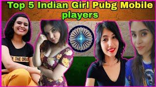 Top 5 Indian Girl Pubg Mobile players of 2020 | Pubg mobile Girl player in India || Mr Glitch Gaming