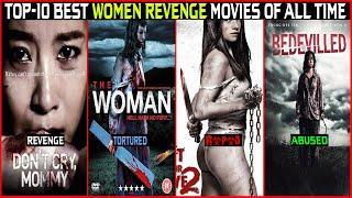 Top-10 Best Women Revenge Movies    In Hindi & English Dubbed    Suspense Thriller Movies list