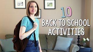 10 Back to School Activities for Elementary Classrooms // games, books, digital activities...