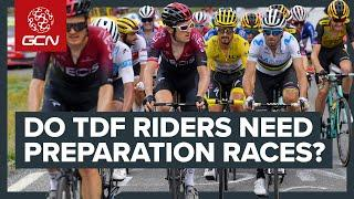 Racing The Tour De France With Only 10 Day's Preparation? | GCN's Racing News Show