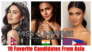 FEBRUARY-10 Favorite Candidates From Asia-Miss Universe 2020/2021-Strongest Candidates|Aboutmore