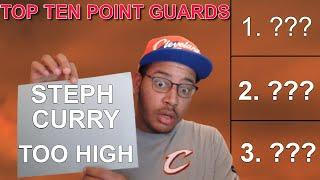 Rusty Buckets Top 10 Point Guards in 2021 Reaction! He Put Stephen Curry Where?!