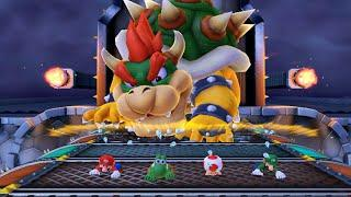 Mario Party 10 - All Bowser Mini-Games - Play As Bowser