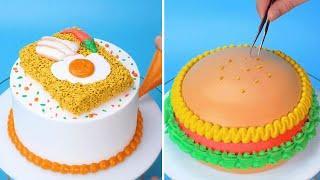 Top 10 Favorite Cake Decorating Ideas   Simple Cake Decorating Tutorials for Girls   So Beautiful