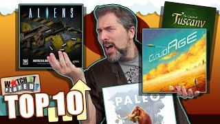 Top 10 Board Games Gaining Popularity | January 2021