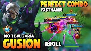 Top Global Gusion, Insane Burst Damage Build,Fast Hand | Gusion Best Build & Gameplay | MLBB ✓