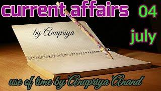 current affairs today | general awareness | current affairs by anupriya | top 10 questions
