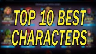 Top 10 Best Characters - Feb 2020 - MARVEL Strike Force - MSF