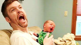 Try Not to Laugh with Funniest Family Baby Moments