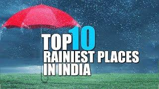Top 10 Rainiest places in India on Sunday February 9th | Skymet Weather