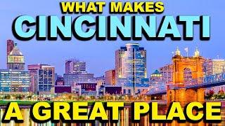 CINCINNATI, OHIO Top 10 Places YOU NEED TO SEE!