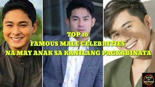 Famous Filipino Male Celebrities na May Anak Sa Kanilang Pagkabinata
