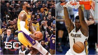 LeBron James, Zion Williamson headline the top 10 dunks of the 2019-20 NBA season | SportsCenter