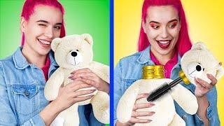 14 Weird Ways To Sneak Makeup Into Class / Back To School Pranks