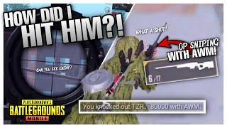 WHAT A SNIPING?! Insane AWM Control! - PUBG MOBILE