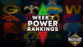 Top 10 NFL Power Rankings Week 7