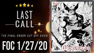 Top 10 Comic Books for Final Order Cut Off 1/20/20
