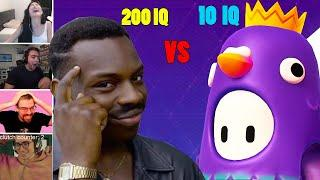 Fall Guys 200 IQ Vs 10 IQ Plays Compilation (Fails/Funny Moments)