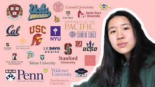 college decision reactions! || ivies, stanford, ucla (20+ SCHOOLS)