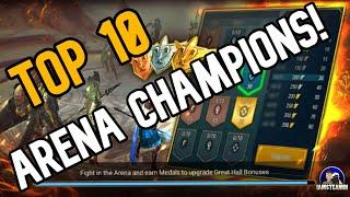 Top 10 champions for arena [Raid: Shadow Legends]