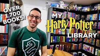 LARGEST HARRY POTTER BOOK COLLECTION IN THE WORLD   1700 BOOK LIBRARY