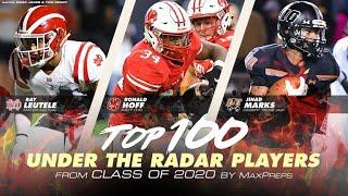 Top 100 Under the Radar high school football players