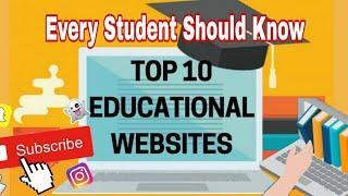 10 websites every student Top 10 websites every student should know | Urdu/Hindi | Mix Fun Newton