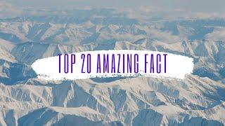 THE TOP 20 UNKNOWN FACTS TOP 10 #factoftheday #top10