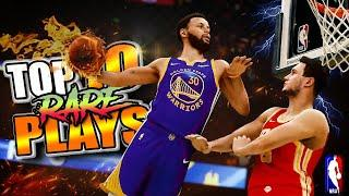 TOP 10 RARE PLAYS & ANIMATIONS Plays Of The Week #56 - NBA 2K21 Self PUTBACKS, Double Ankle Breakers