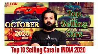 Top 10 Selling Cars in INDIA | October 2020 | Most Sold Cars in India |Top selling Car of the Month|