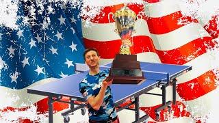 Adam at the US Open