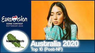 Australia ESC Selection (Australia Decides - Gold Coast) 2020 Top 10 With Comments (After Jury Show)