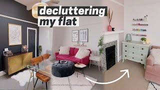 decluttering + cleaning my flat for the new year ⚡