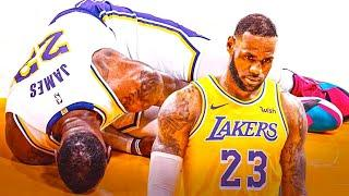 LEBRON JAMES Injury Update Today   Lakers Injuries Becoming A Concern?
