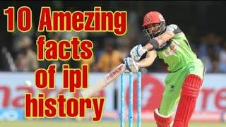 Top 10 amezing facts of ipl history part:-1