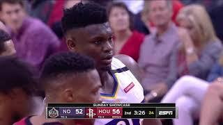 Houston Rockets vs New Orleans Pelicans   February 2, 2020