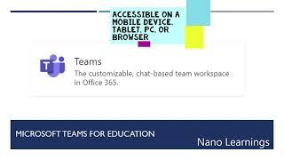 Top 10 Office 365 Apps For Education|Microsoft 365|Teams|OneNote|Remote Learning|Virtual Classroom