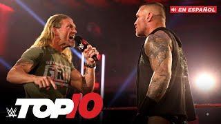Top 10 Mejores Momentos de Raw En Español: WWE Top 10, May 18, 2020