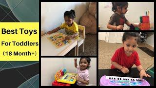 Best 10 Toys For 2 Year Old    Toddler Toys Must haves 2020    २ साल के बच्चों के खिलौने