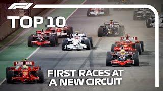 Top 10: First Races At A New Circuit
