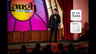Vik Pandya showcasing for Kenan Thompson's Ultimate Comedy Experience