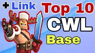 Amazing Best Top 10 TH12 War Base +Link | For December Clans War League | TH12 New War Base  For CWL