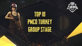 [TOP 10] PMCO Turkey Group Stage | Spring Split | PUBG MOBILE CLUB OPEN 2020