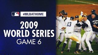 2009 World Series Game 6 (Phillies vs. Yankees) | #MLBAtHome