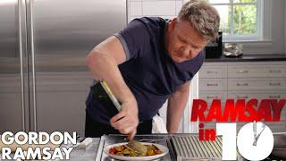 Gordon Ramsay Cooks Mediterranean Sea Bass in Under 10 Minutes   Ramsay in 10