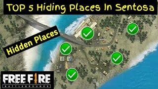 """Sentosa Area""TOP 5 Hidden Places In Free Fire 2020 